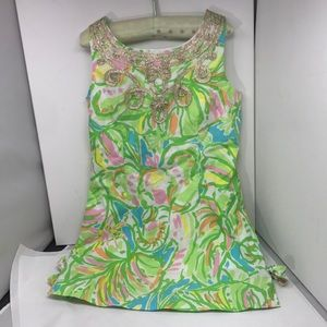 Lilly Pulitzer sleeveless dress girls size 6